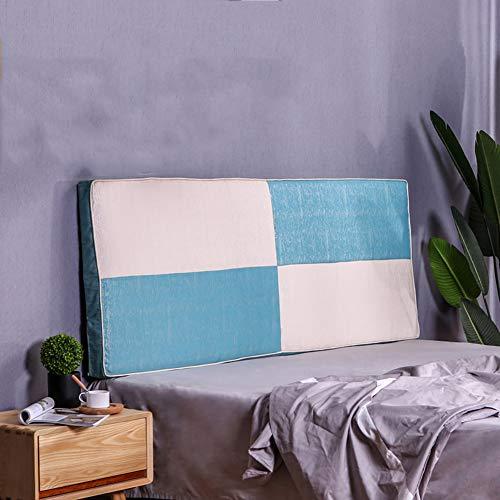 Lumbar Pad rugleuning nachtkastje rugkussen, groot leeskussen hoofdkussen kussen voor dag bed stapelbed met wasbare hoes