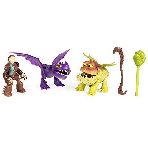 Dragons Set Valka und Baby Gronckle und Scuttleclaw - Drachenzähmen leicht gemacht