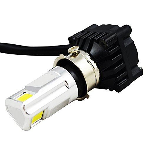 RTD 直流交流兼用バイクLEDヘッドライトH4 H6 HP7 HP8対応 Hi/Lo 切替式 30W DC&AC 9-18V 6000K Hi 3000lm/...