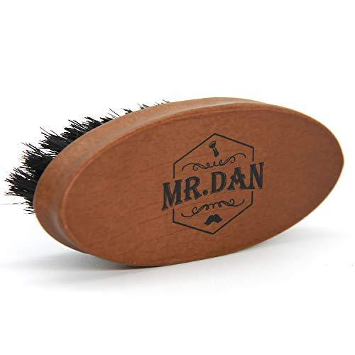 TROP Mr. Dan by Cepillo de Barba, Cepillo cerdas de jabalí, empuñadura...