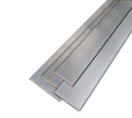 Edelstahl Flach Flachstahl Flachmaterial Flacheisen V2A 1.4301 40x5mm 1000mm