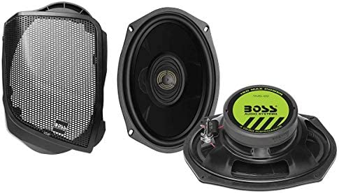 BOSS Audio Systems BHD14 Harley Davidson 6 x 9 Inch Saddlebag Speaker Kit Fits Select 2014 Road product image