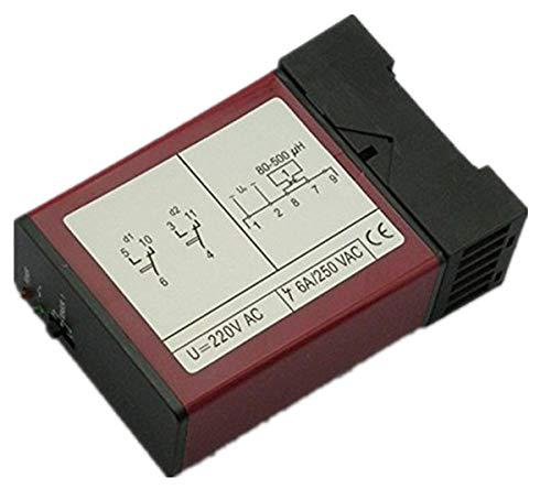 220/110VAC 24V/12V AC/DC Tráfico Inductivo Loop Vehículo Detector Control de Señal