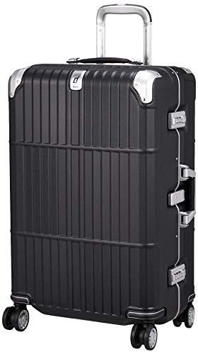 [エー・エル・アイ] スーツケース departure ハードキャリー 保証付 63L 5.1kg レザーマットブラック