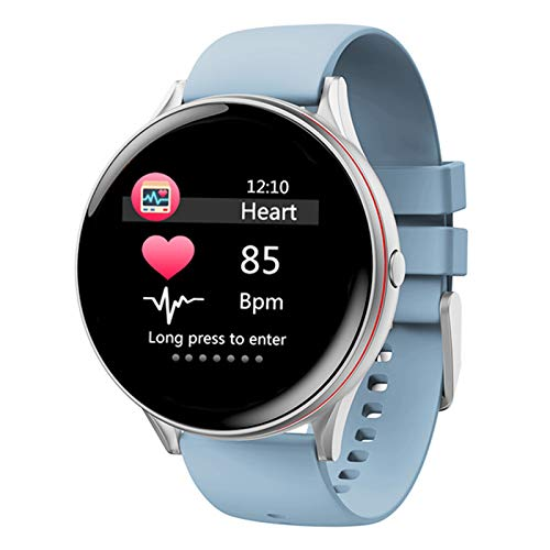 LWP V19 Pantalla de Color Pulsera Inteligente, Podómetro Deportivo, Impermeable, sueño, Ritmo cardíaco, Salud de Moda Reloj Inteligente Reloj Nuevo para Android iOS,A