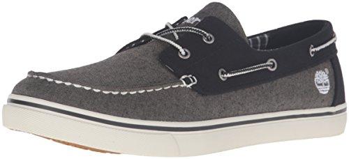 Timberland Sapato náutico masculino Newmarket Ox, Cinza, 7