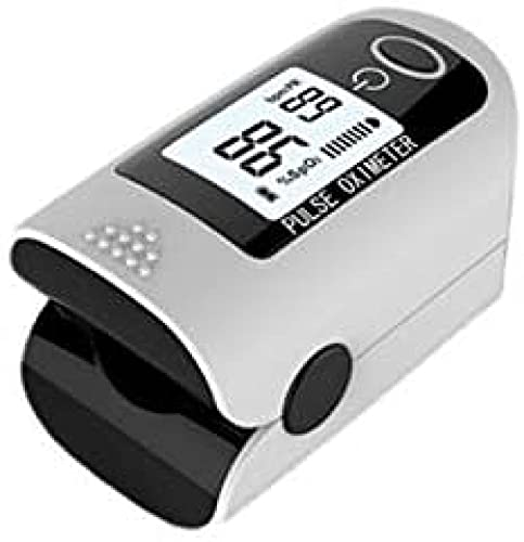 Ewendy Digital Finger oximeter Sangue Ossigeno saturazione impulso ossimetro saturazione delle Dita misuratore di frequenza cardiaca Medica Black