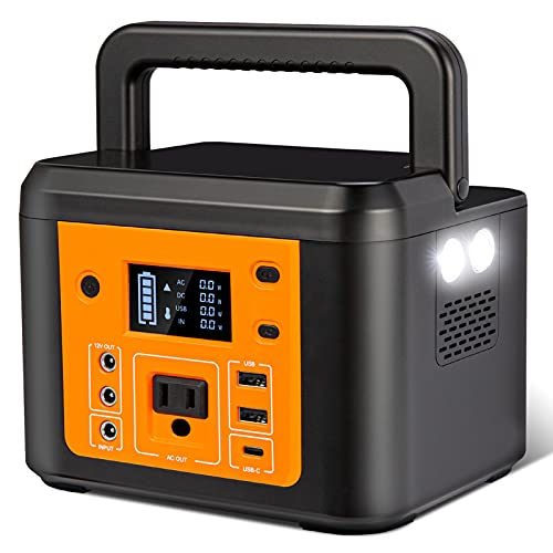 Portable Power Station 200W -2021 Newest IDEALHOUSE Portable Generator, Solar Generator Power Supply 222Wh 60000mAh with AC Outlet 3 DC Ports 3 USB Ports for CPAP Home Outdoor Camping Emergency
