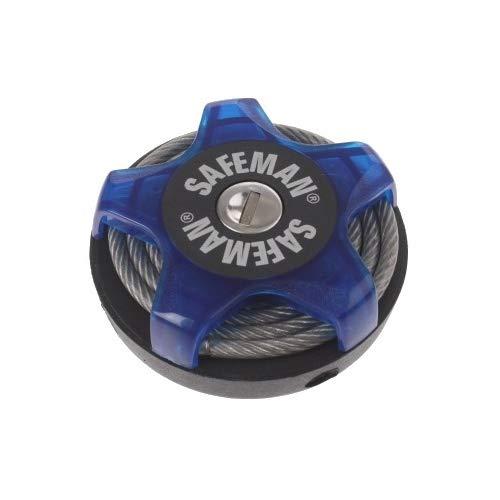 safeman Kabel-Multifunktions 750 x 5 mm blau