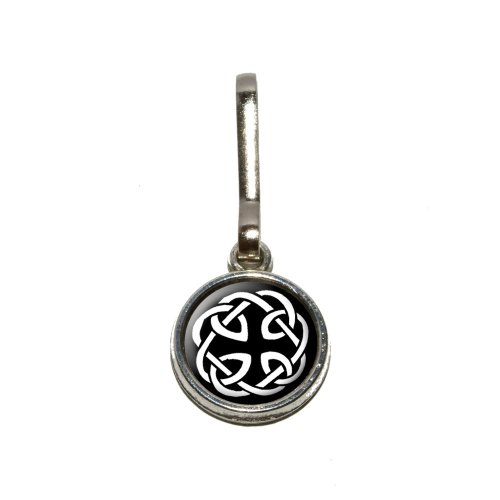 Celtic Knot Antiqued Charm Clothes Purse Luggage Backpack Zipper Pull