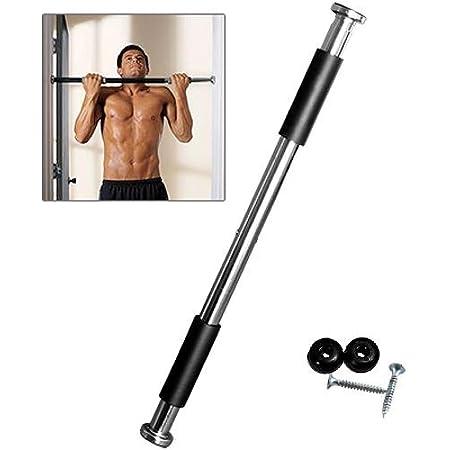62-100cm Tür Bar Kinn Pull Ups Home Gym Fitness Kraft Übung Training GI