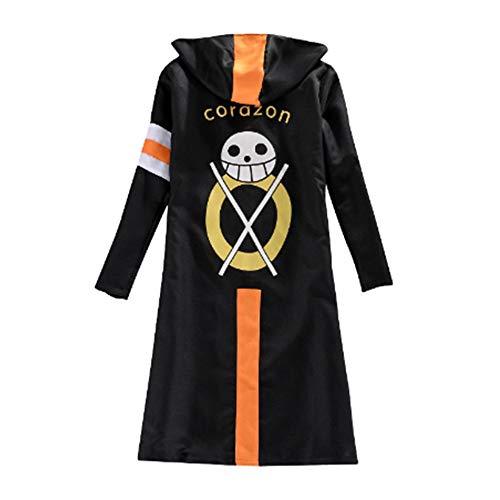 Déguisement One Piece Trafalgar Law Trois Générations Cosplay Costume (XL)