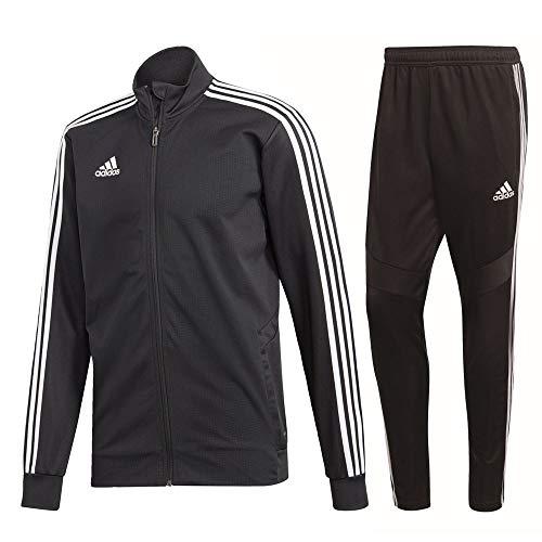 adidas Tiro 19 Trainingsanzug Herren schwarz weiß Gr XL