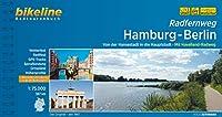 Radfernweg Hamburg-Berlin: Von der Hansestadt in die Hauptstadt. Mit Havelland-Radweg. 387 km, 1:75.000, wetterfest/reissfest, GPS-Tracks Download, LiveUpdate