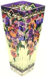 pansy ring vase