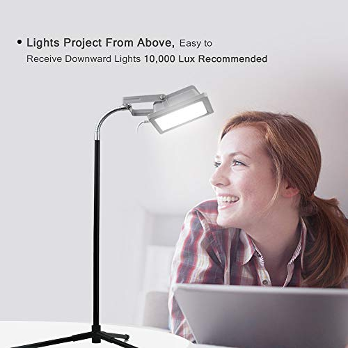 Aceple LED Light Therapy Floor Lamp