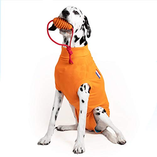 Medical Pet Shirt, Orange, für Extra Kleine Hunde
