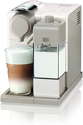 De'Longhi EN560.W Lattissima Touch Animation Nespresso Single Serve Coffee Machine, Plastic, 1400 W, White