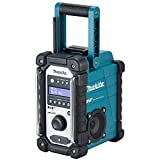 Makita DMR110 Li-ion DAB/DAB+ Job Site Radio - Batteries and Charger Not Included