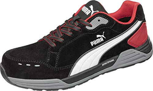 PUMA Safety AIRTWIST Black RED Low Sicherheitsschuh Gr. 43