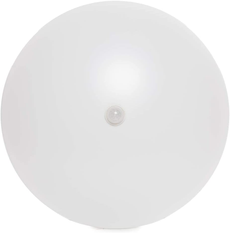 Pasillos Ba/ños Dormitorio Panel LED Techo Lamparas de techo Oficina Downlight LED Sal/ón Blanco Natural Plaf/ón LED Superficie 18W Detector 1500Lm 30.000H Greenice