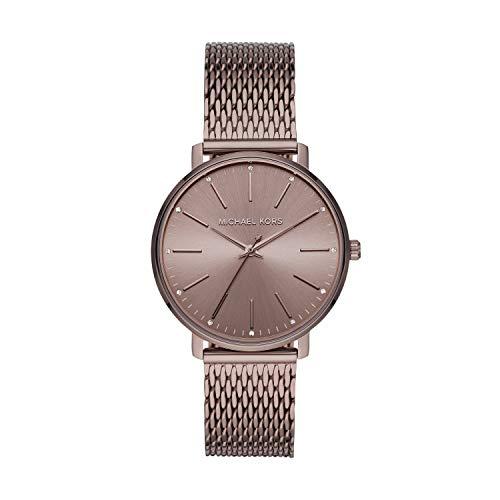 Michael Kors MK4538 Reloj de cuarzo de acero inoxidable para mujer