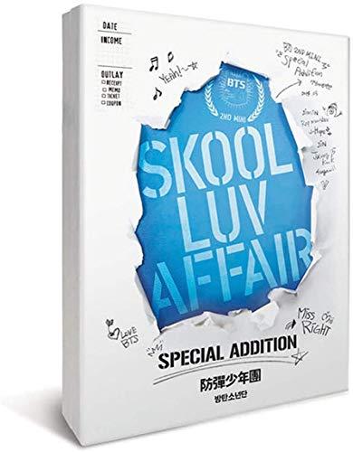 BTS - SKOOL LUV AFFAIR, Special Addition incl. CD, DVD, Photobook, Photocard, Folded Poster, Extra Photocards