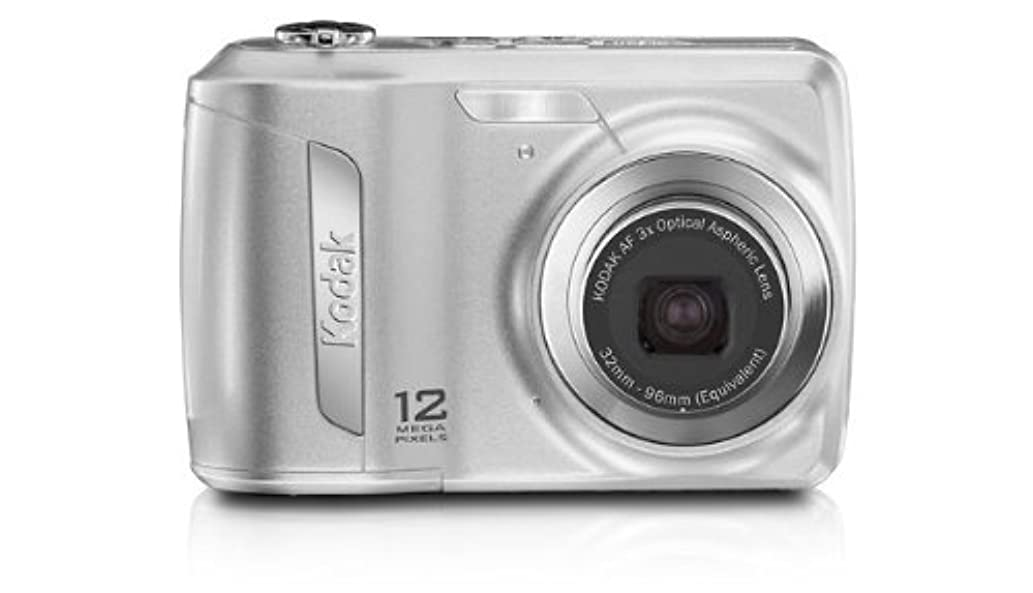 Kodak Easyshare C143 12 MP Digital Camera with 3xOptical Zoom and 2.7-Inch LCD (Silver)