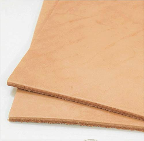 Springfield Leather Company 24x24 Pre-Cut Hermann Oak Leather Tooling Pieces 8-9oz