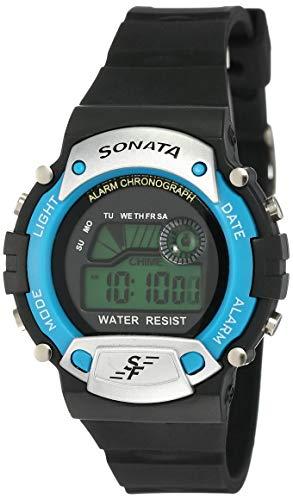 SF Venus Digital Digital Grey Round Dial Men's Sport Watch-NM7982PP04