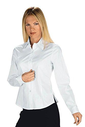 Robinson dames blouse KYOTO PIQUET wit maat L