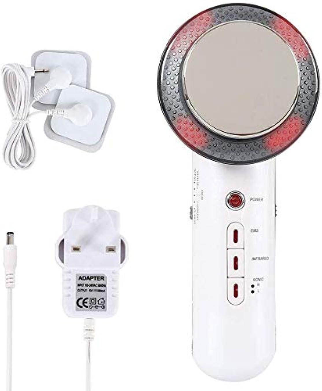 マガジン均等に感度超音波キャビテーション赤外光の振動ボディスリミングマッサージャーEMS美容ファットバーナーケアセルライト除去減量デバイス