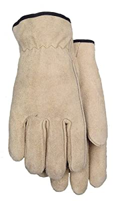Brushed Suede Cowhide Leather Work Glove