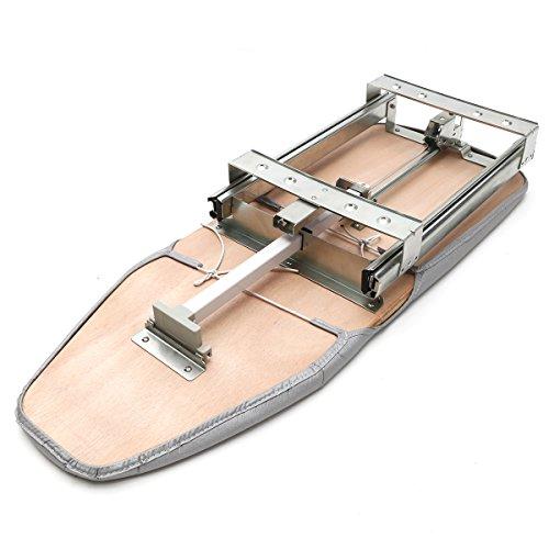 YOUTTOO Tabla de Planchar Plegable con Funda, Tabla de Planchar Plegable extraíble con cajón Giratorio montado en la Tabla de Planchar