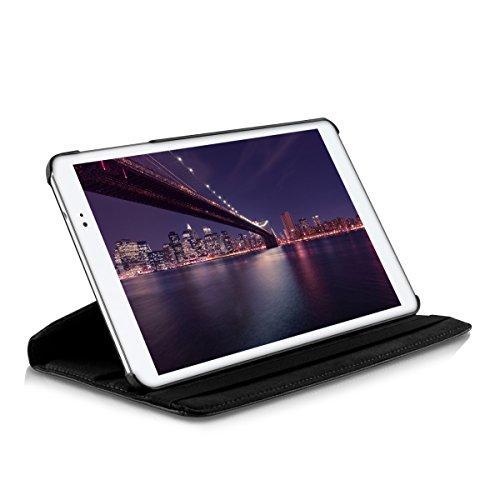 kwmobile Huawei MediaPad T1 10 Hülle - 360° Tablet Schutzhülle Cover Case für Huawei MediaPad T1 10 - Schwarz - 6