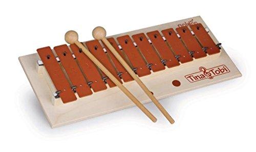 """Musikalische Früherziehung - Musikschulprogramm \""""Tina & Tobi\"""": Glockenspiel"""
