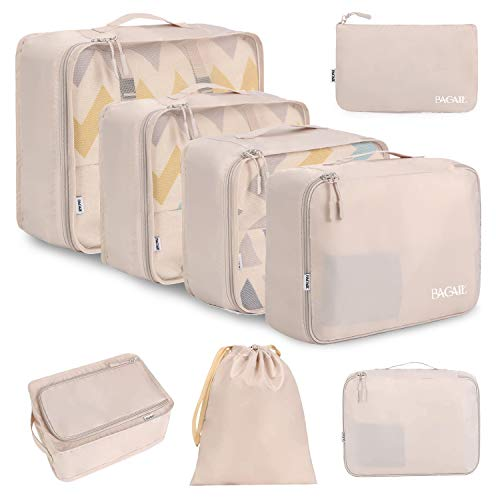 BAGAIL 8 Set Packing Cubes