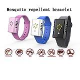 Ultraschall Mückenschutz Armband Entwurmung intelligente Outdoor-Wildmücken Kinder Silikon Sport Armband (Rosa)