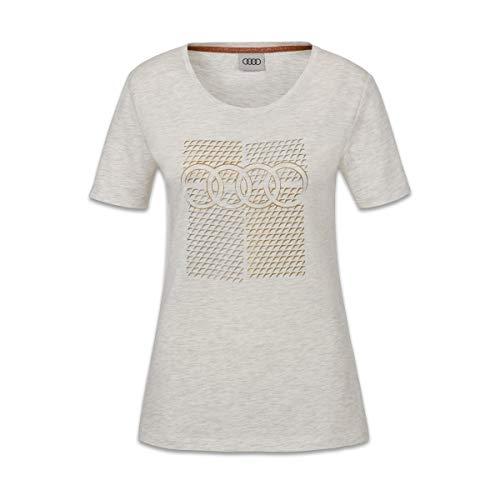 Audi T-Shirt, Damen, grau, M
