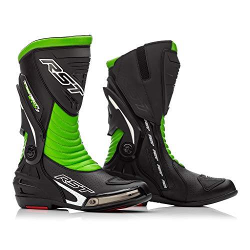 RST Motorradstiefel TracTech Evo CE 2101 schwarz/grün für 2020 atmungsaktive Membran, 2101, schwarz / grün, 12/47