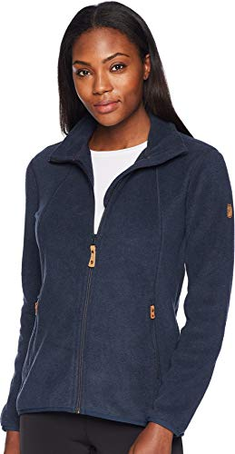 Fjallraven Damen Stina Fleece W Sweatshirt, Dark Navy, L