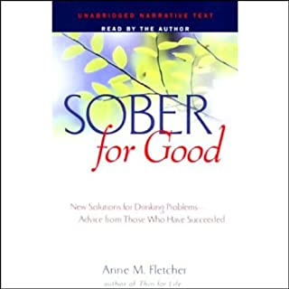 Sober for Good audiobook cover art