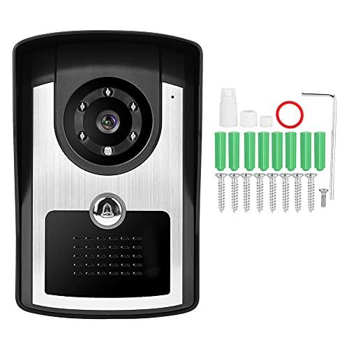 Videoportero Intercom Video Doorbell 1080p IP Smart WiFi Video Intercom Tim Towlell Security Video Door Phone IR Cámara IR (110-240v)