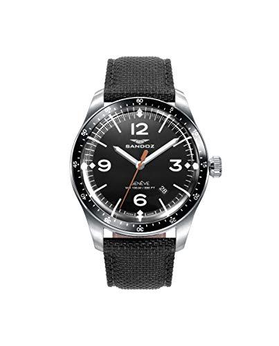 Sandoz - Pack Reloj Acero Correa Sr Vitesse Sa - 81499-54