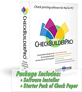 CheckBuilderPro3 - Check Printing Software for Macintosh & Windows