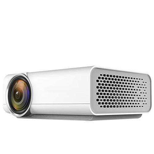 Regen stad Home Theater Projector met 138 inch projectiescherm Verticale Keystone Correctie, meerdere interfaces voor mobiele harde schijf Set-Top Box