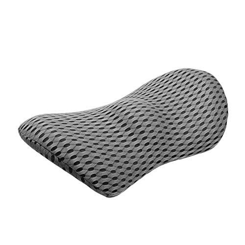 CHENZHEN Cojín de autos soporte lumbar almohada de memoria Memoria de espuma Asiento de coche almohada de la cintura de la cintura de la parte baja de la espalda Cojín de cojín almohada para dormir