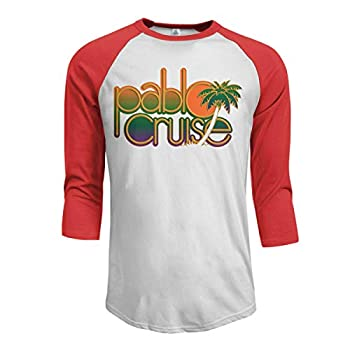KennethDubreuil Pablo Cruise Mens Baseball Jersey Cotton T-Shirt M Red
