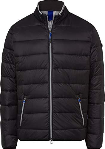 BRAX Herren Style Cole Outdoor Long Season M Fake Daune Jacke, Black, X-Large (Herstellergröße: 54)