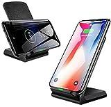 Gymqian Chargeur de Téléphone Sans Fil 10W Fast Fast Stand de Chargeur Sans Fil Chargeur...